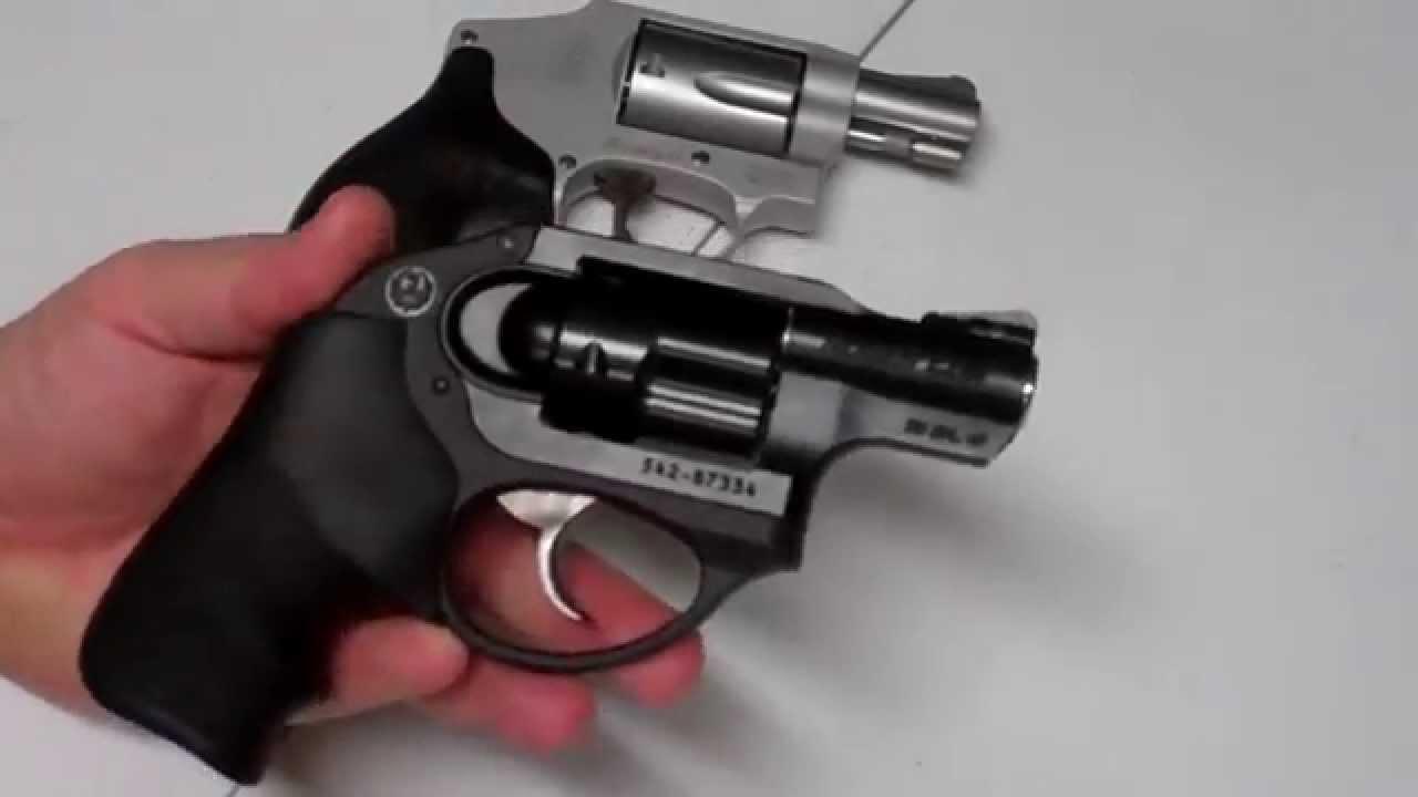 wesson smith pocket ruger revolvers vs