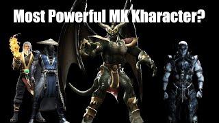 Top 10 Strongest Mortal Kombat Characters