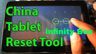 How to Hard Reset Chinese Android Tablet Or Mobile With infinity Box