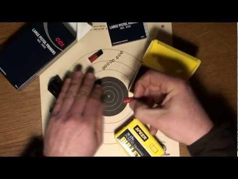 Shoot Your Revolver Indoors - Speer Plastic Bullets