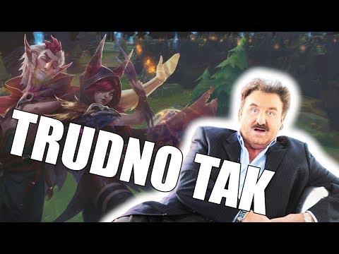 TRUDNO TAK - PARODIA KRZYSZTOFA KRAWCZYKA (League of Legends)