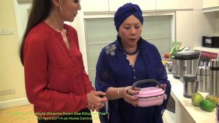 La gourmet Thermal Wonder Cooker Recipe by Carol Lee Mrs Universe 2013 & Jean Yeap 2/7