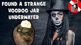 I found a voodoo prayer jar Detrashing the river looking for treasure