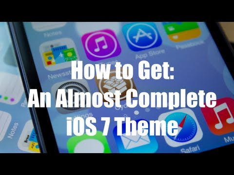 How to Get An Almost Complete iOS 7 Theme on iOS 5 and 6