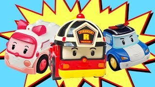 Toy Cars and Robocar Poli. Car Toys