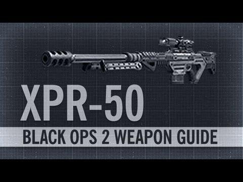 XPR-50 : Black Ops 2 Weapon Guide & Gun Review