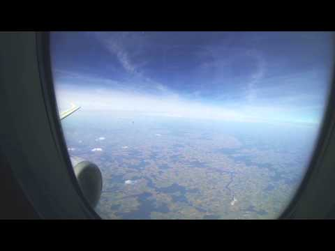 Lufthansa Airbus A319 Frankfurt-Munich (full flight)