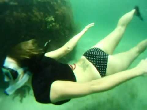 Real Mermaids Kiss Underwater