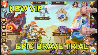 #8 VIP LEVEL INCREASED - Idle Heroes Official