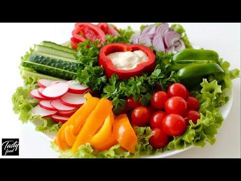 Овощная Нарезка   Как Просто и Красиво Подать Овощи на Праздник!