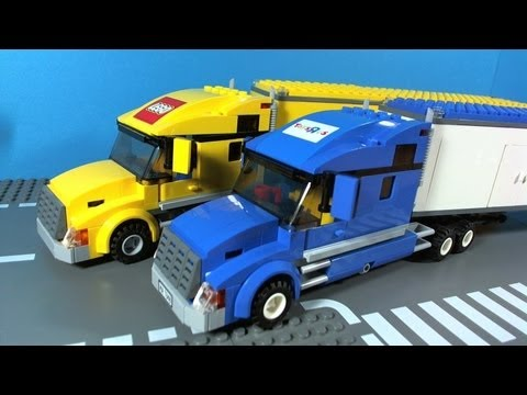 LEGO CITY TOYSRUS TRUCK 7848