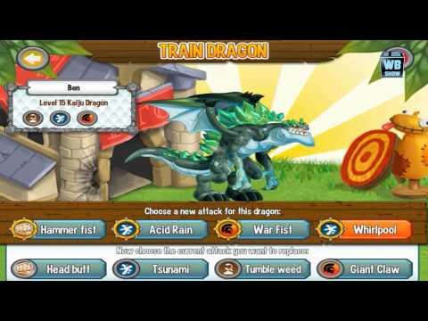 Dragon City: Kaiju (Godzilla) Dragon Battle & Skills