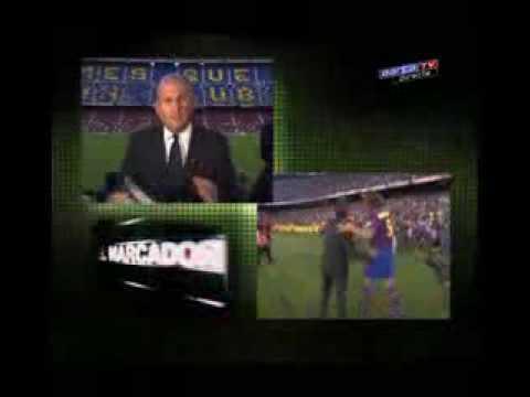 Zlatan Ibrahimovic Official Presentation at Camp Nou
