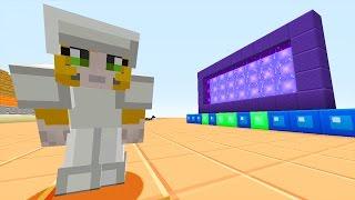 Minecraft Xbox - Stampy Flat Challenge - Nether Portal (7)
