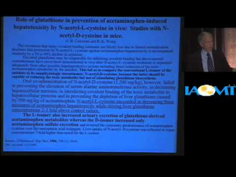 Boyd Haley, PhD discusses glutathione and oxidative stress at IAOMT 2009 Las Vegas