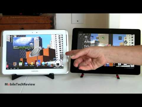 Samsung Galaxy Note 10.1 vs. Asus Transformer Pad Infinity TF700 Comparison Smackdown