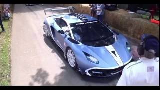 Arrinera Hussarya GT Saturday run @ Goodwood Festival Of Speed