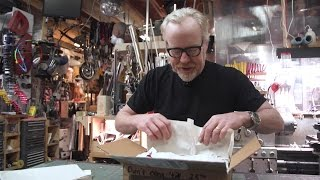 Adam Savage Opens His Secret Santa Gift!