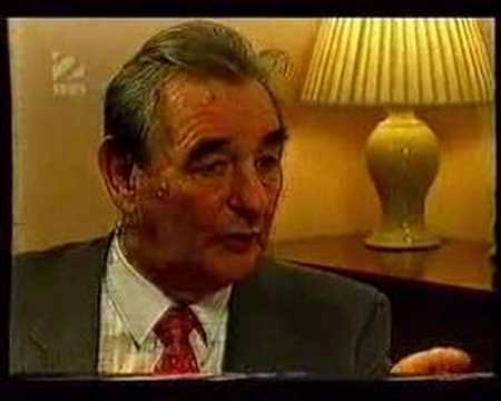 BRIAN CLOUGH - ON POSH AND BECKS