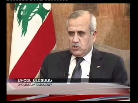 Interview with Lebanese President Michel Suleiman.