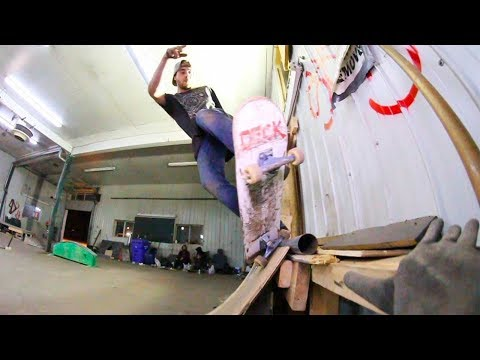 Ethernal Skate Films / Winter Skateboard Session @ DIY Secret Spot (Mirabel-Qc)