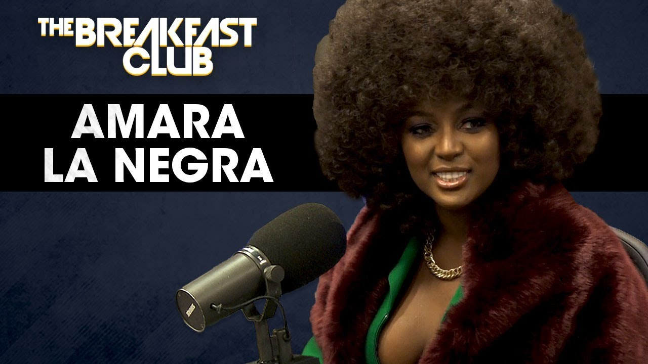 amara la negra discusses being afro-latina & the standards of beauty