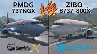 PMDG 737 NGX vs. ZIBO B737-800X | THE ULTIMATE COMPARISON