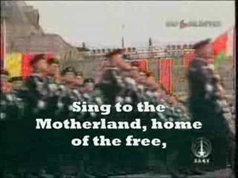 Soviet National Anthem(With Lyrics)