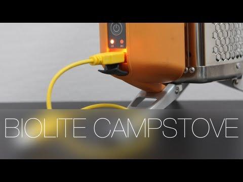 Как зарядить iPhone от огня? Смотрим на печку Biolite Campstove