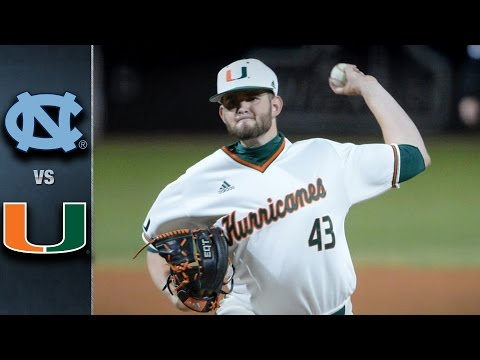 North Carolina vs. Miami Baseball Highlights (April 1, 2016)