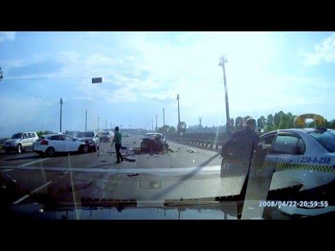 ДТП Киев.  Мост им. Патона 10.05.2016
