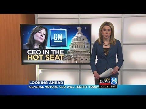 General Motors CEO to testify to Congress
