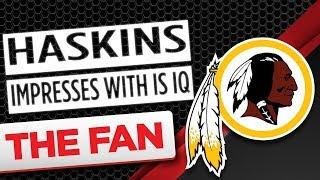 Haskins Has Impressive Football IQ