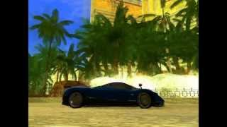 GTA San Andreas PC Pagani Zonda F Stock