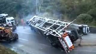 Towing truck fail