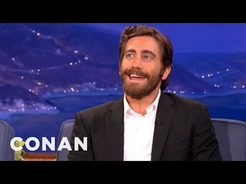 Nobody Says Jake Gyllenhaal's Name Correctly - CONAN on TBS