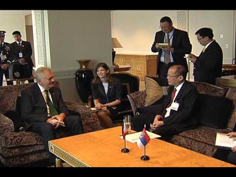 Bilateral Meeting with Serbian President Tomislav Nikolic