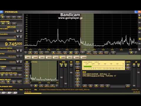 9745 kHz Radio Bahrain / Dec. 23,2014 1803  1904 UTC