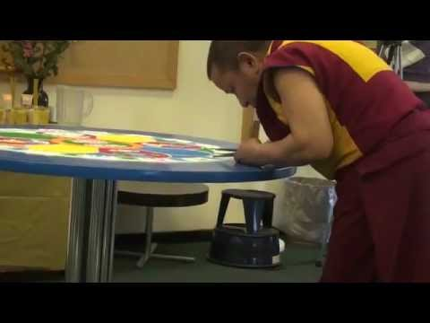 Buddhist Monk at Mohawk Valley Community College 2009