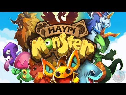 Haypi Monster - iPhone & iPad Gameplay Video