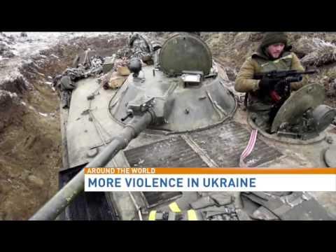 More violence in Ukraine