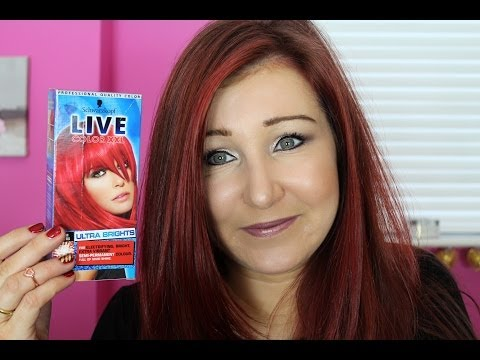 Schwarzkopf Live Colour XXL Hair Dye in Pillar Box Red - Review
