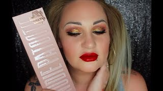 LAURA LEE NUDIE PATOOTIE PALETTE REVIEW & SWATCHES