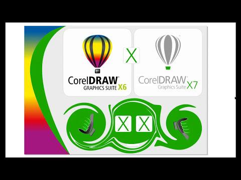 CorelDraw X7 x X6 Diferenças e Personalização
