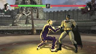 Mortal Kombat vs DC Universe playthrough_The Joker