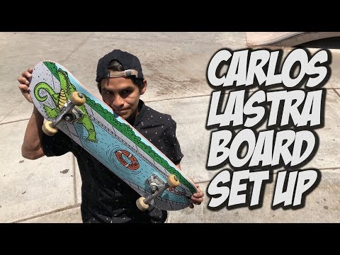 CARLOS LASTRA BOARD SET UP & INTERVIEW !!!