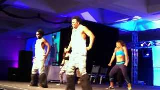 Nicole Steen Dances at the 2014 LA Zumba Convention