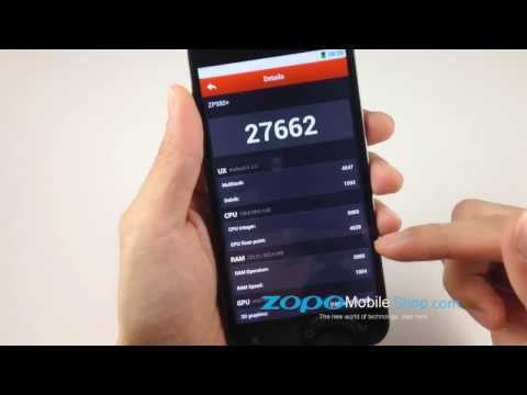 ZOPO ZP980 plus Antutu test video review