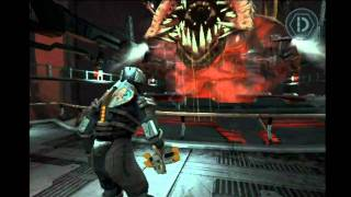 Dead Space iPhone - Chapter 12 (End Game SPOILER!) - Hard difficulty