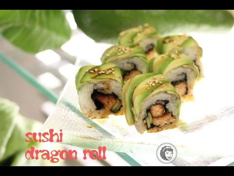 Sushi dragon roll - Kotlet.TV